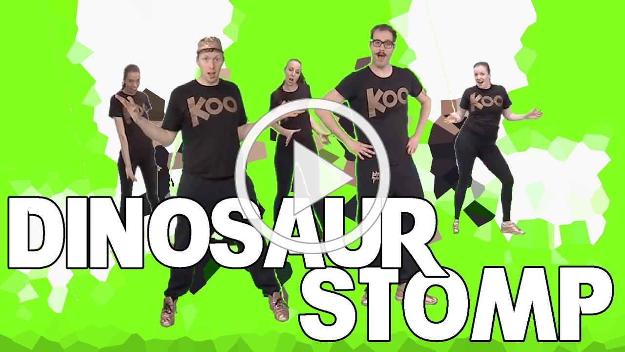 Koo Koo Kanga Roo - Dinosaur Stomp (Dance-A-Long)