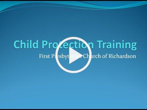 2021 FPCR Child Protection Training
