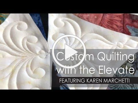 Custom Quilting with the Gammill Elevate