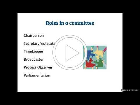 BUSD Committees 101