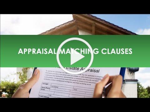 Legal Bites: Feb 4, 2021 - Appraisal Matching Clauses