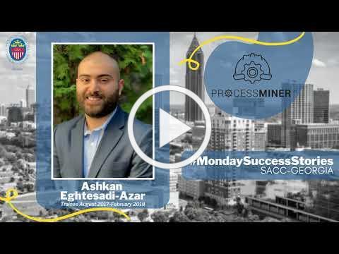 #MondaySuccessStories SACC Georgia - Ashkan Eghtesadi-Azar