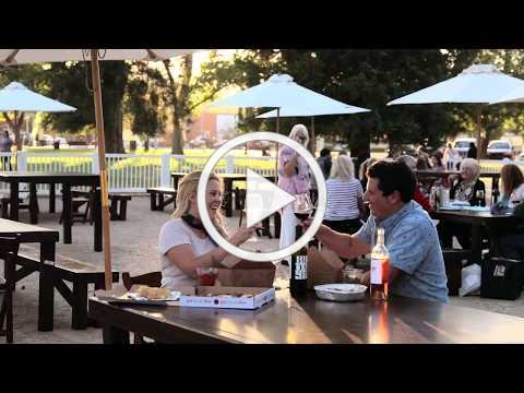 Paso Robles Downtown City Park Dining Experience