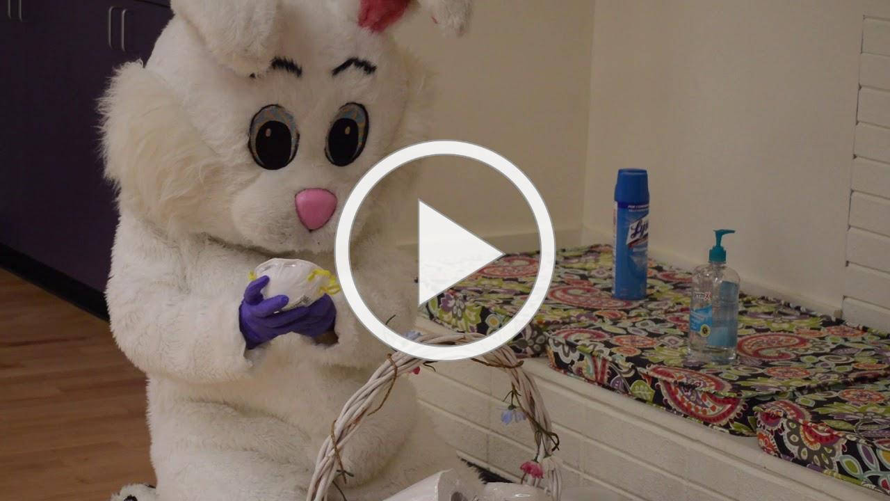 Buttercup the Easter Bunny Back in Action