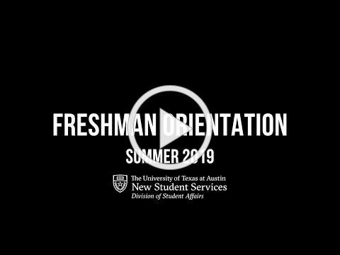 UT Austin Freshman Orientation 2019 Recap Video