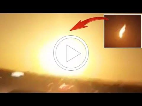 BIG Meteor Explodes in the Sky Above Turkey, Object Impacts the Earth