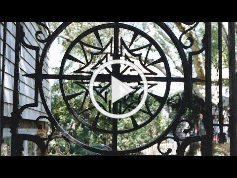 The Wrought Iron Gates - Greater Light on Nantucket