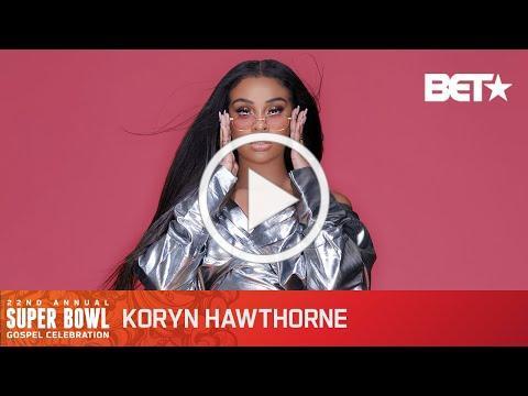 "Koryn Hawthorne Performs ""Speak To Me"" At The Super Bowl Gospel Celebration"