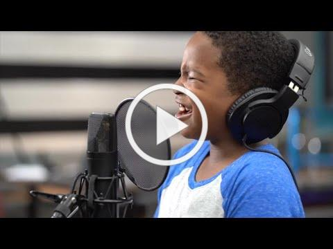 """Clarksville Elementary students record adorable """"We Are the World"""" music video"""
