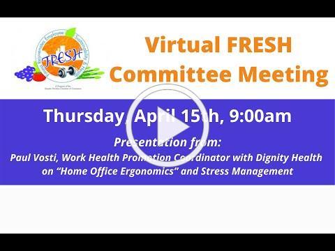 FRESH Committee Meeting April 15, 2021
