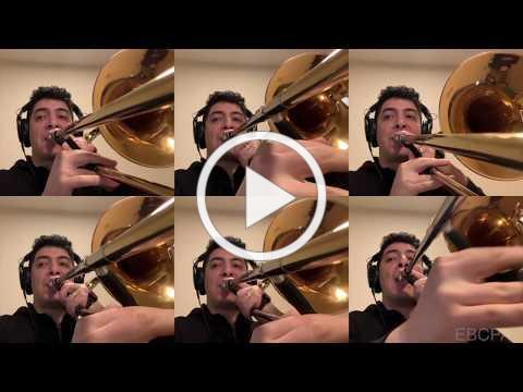 Trombonist Dr. Bryan Alvarez - I Am an Artist - East Bay Center for the Performing Arts