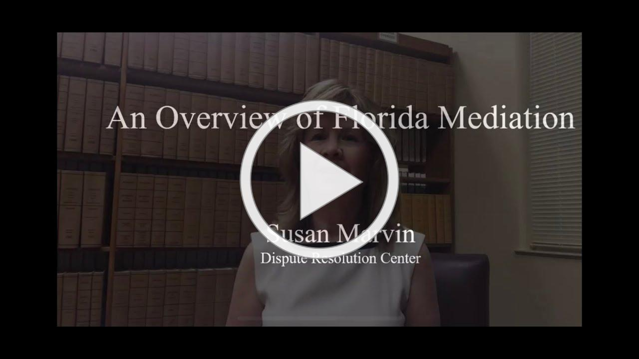 An Overview of Florida Mediation