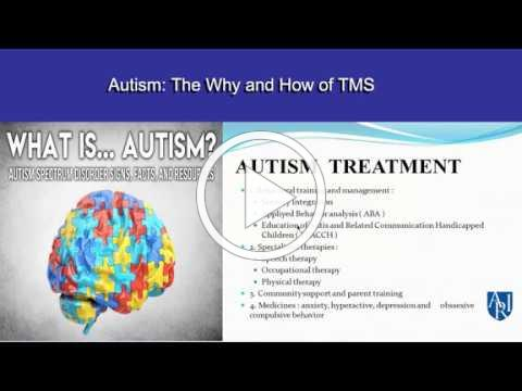 Transcranial magnetic stimulation _TMS_ for ASD - Research Updates