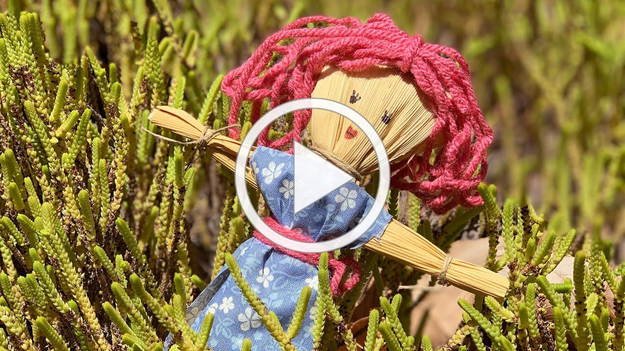 Make Your Own Corn Husk Doll