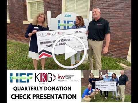 HEF Donor Spotlight: Kilene Kelly Group