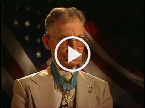 Watch this powerful yet brief interview and story of Desmond Doss.