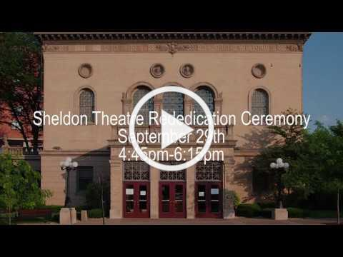 Finishing Touches to the Sheldon Theatre's Restoration Project
