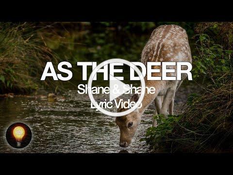 As The Deer | Songs From Home - Shane & Shane (Lyrics)