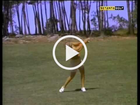 Mickey Wright golf swing