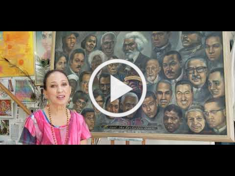 Pat Cleveland speaks about her mother, painter Lady Bird Cleveland