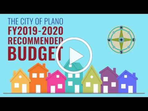 Learn About the City of Plano's Recommended 2019-2020 Budget