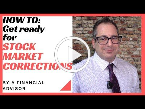 Stock marekt corrections - how to prepare for the next one