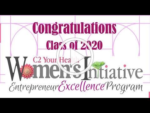 C2 Your Health Womens Initiative Mentoring 2020 Class Graduation C2YHWI Cindy Cohen RN