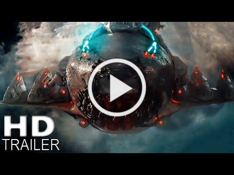 SKY SHARKS Final Trailer (2020) Flying Nazi Sharks, Sci Fi Movie HD