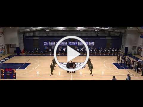 Boys Basketball Senior Night 1/18/21