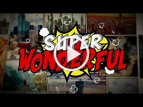 Yancy - Super Wonderful Comic Version [OFFICIAL LYRIC VIDEO] from Kidmin Worship Vol. 6