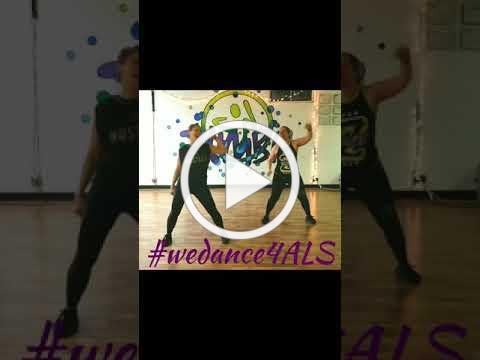 #wedance4ALS week 2 move of the week faith