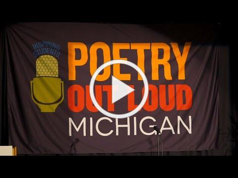 Michigan Humanities Poetry Out Loud