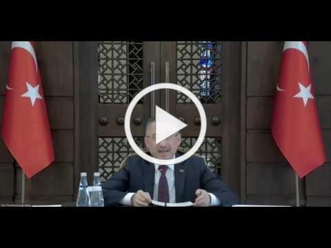 Virtual conversation with Fuat Oktay, Turkish Vice President: Post COVID-19 world order and Turkey