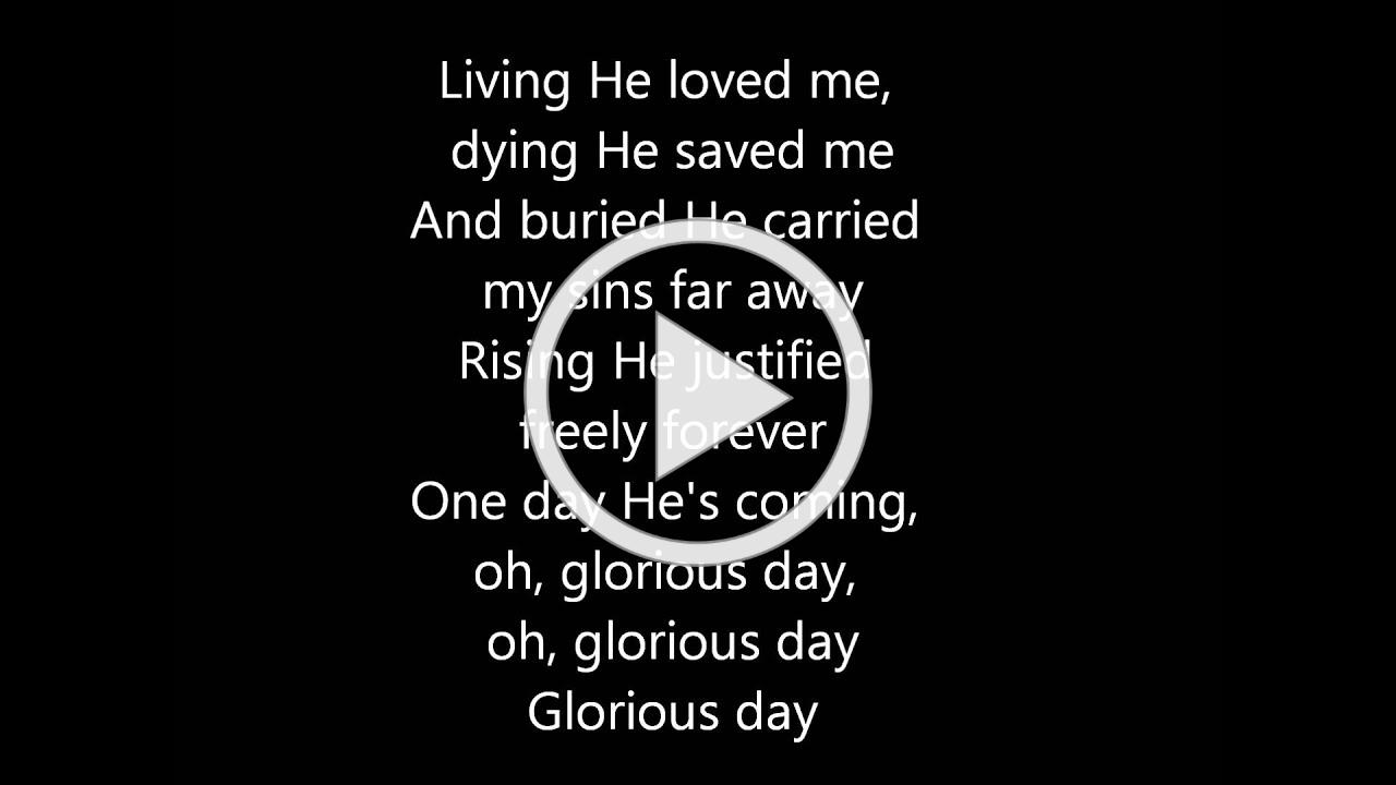 Casting Crowns - Glorious Day (with lyrics)