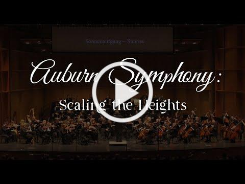 Auburn Symphony: Scaling the Heights