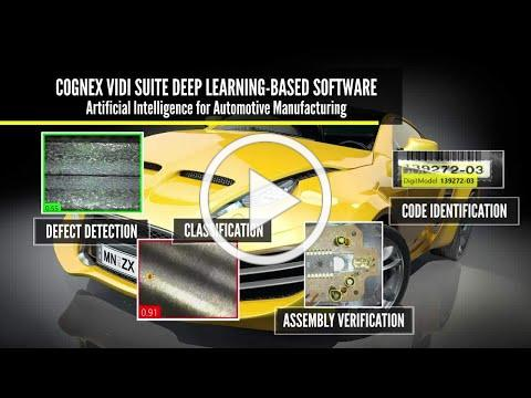 Cognex ViDi Deep Learning-Based Image Analysis for the Automotive Industry