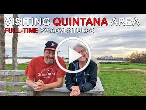 Visiting Quintana Beach, Surfside... | Texas Gulf Coast | RV Texas Y'all
