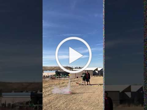 Estes Rocket Launch