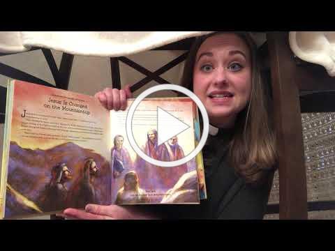 Grace Children's Sermon for Transfiguration Sunday + February 14, 2021