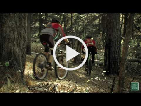 Postcard From Texas: Mountain Biking at Tyler State Park