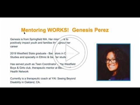 Hampden County Mentoring Summit Speaker Genesis Perez