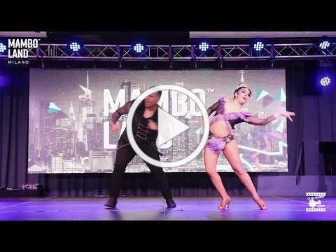 Benny Ayala & Ashley - showtime @ Mamboland Milano