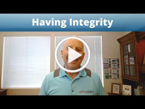 Having Integrity