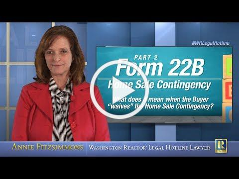 Form 22B: Home Sale Contingency - Part 2