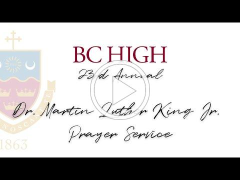 23rd Annual Dr. Martin Luther King Jr. Prayer Service