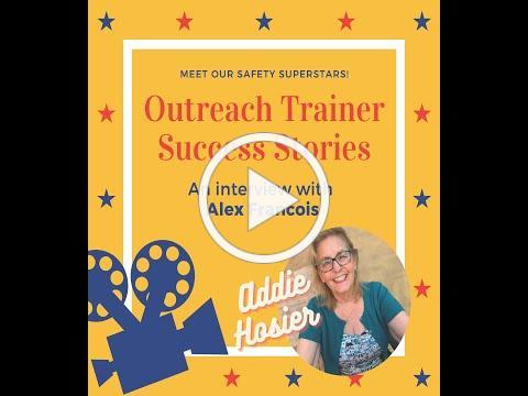 Outreach Trainer Success Stories with Addie Hosier: Alex Francois