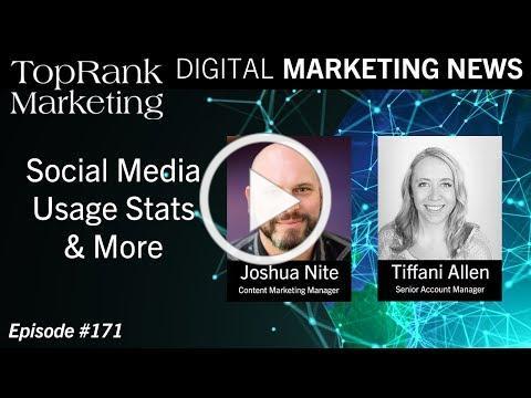Digital Marketing News 6-21-2019: Social Media Usage Stats & More