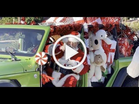 """Santa """"Slays"""" It At Grand Opening!"""