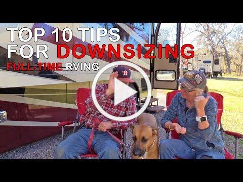 10 Tips for Downsizing | Full-Time RV Living | RV Texas Y'all