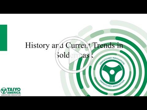History and Future of Solder Mask EIPC Presentation